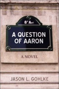 Cover for unfinished novel 'A Question of Aaron'