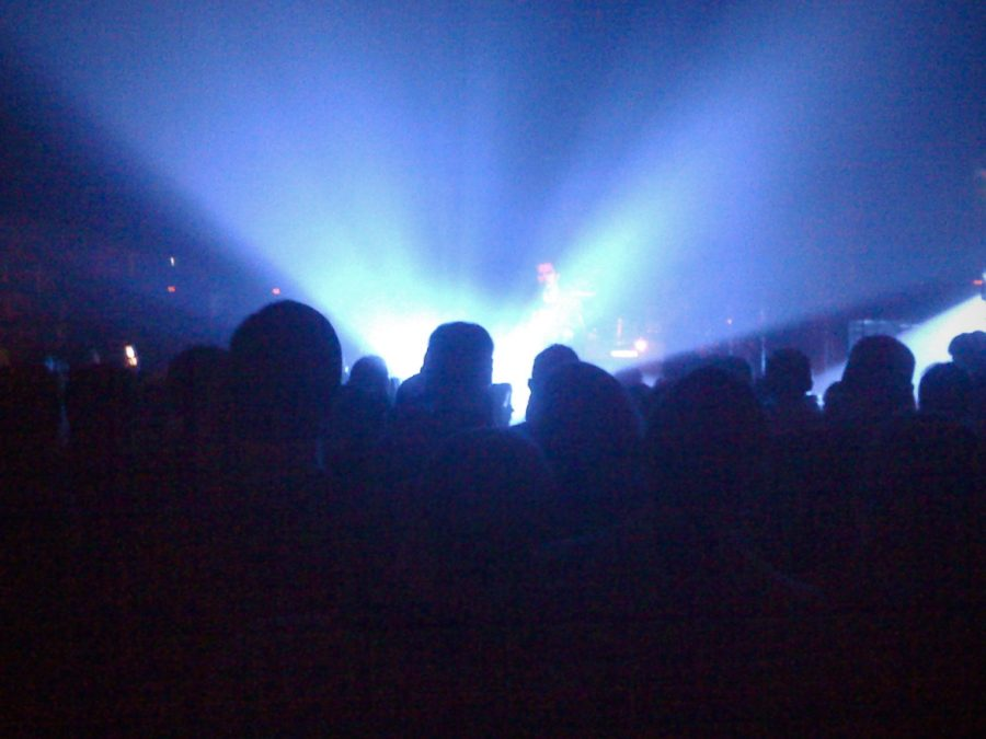 Image of rock concert at Great American in SF in 2008