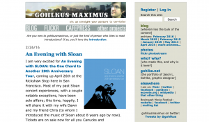screenshot of this site's homepage as of February 2016